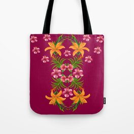 blossom yellow flower yellow summer Tote Bag