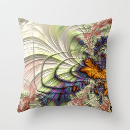 Cadence of Color Throw Pillow