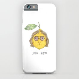 John Lemon iPhone Case