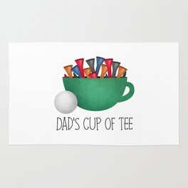 Dad's Cup Of Tee Rug