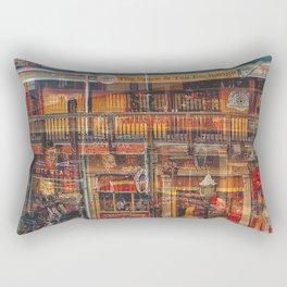 The Yellow House Rectangular Pillow
