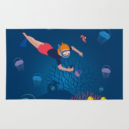 Diver Rug