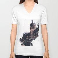 castlevania V-neck T-shirts featuring Castlevania by Esco