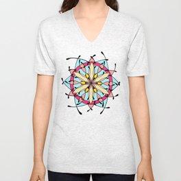 Mandala II Unisex V-Neck