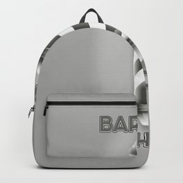Barbers Shop Pole Backpack