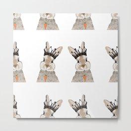 The King of Easter pattern Metal Print