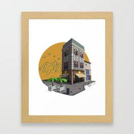 Townlet Framed Art Print