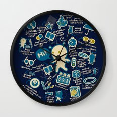 AWESOME BIBI'S GADGETS Wall Clock