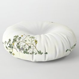 This is how a garden grows Floor Pillow