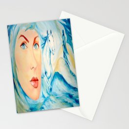 Dream of Blue Stationery Cards