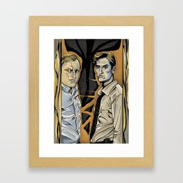 TRUE DETECTIVE Framed Art Print