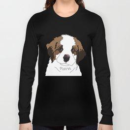 Sully the sweet Saint Bernese Long Sleeve T-shirt
