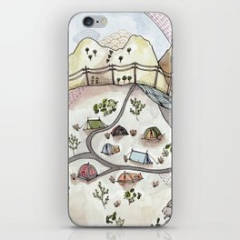 Desert Camp iPhone Skin