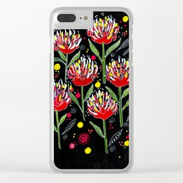 Protea Magic Clear iPhone Case