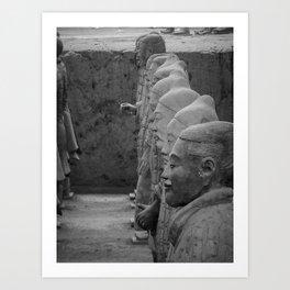 China's Terracotta Warriors Art Print