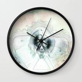 Encircles the world Wall Clock