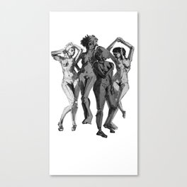 Ya'll Can't Handle The Femme Power Canvas Print