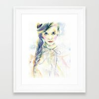 ultraviolence Framed Art Prints featuring Ultraviolence by Cora-Tiana