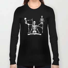Skeleton Yoga Long Sleeve T-shirt