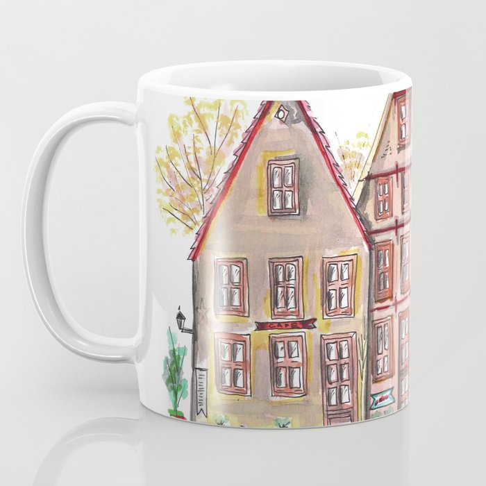 Coloured houses II Coffee Mug