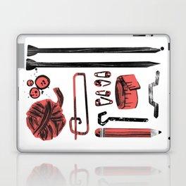 Knitting Kit Laptop & iPad Skin