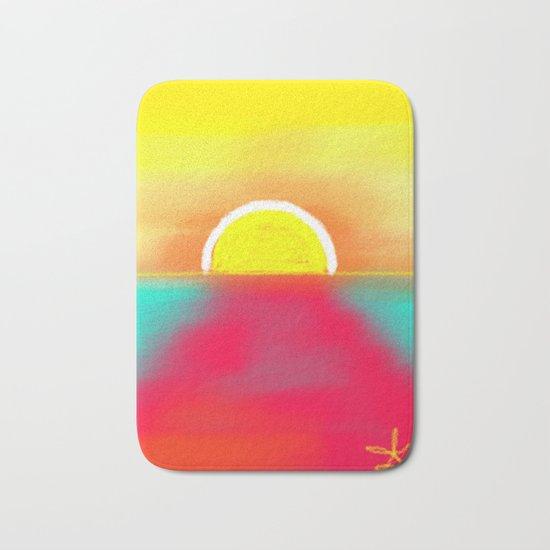 HOT SUNSET Bath Mat