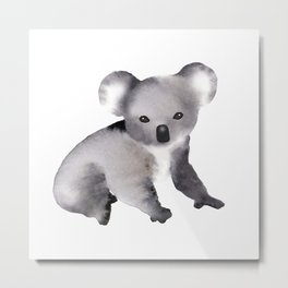 Cute Koala - Australian Animal Metal Print