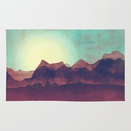 Distant Mountains Rug