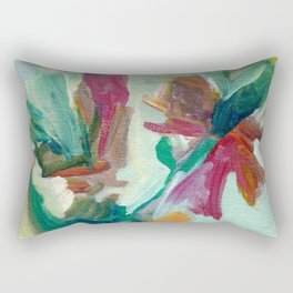 Dreamy Bouquet Rectangular Pillow