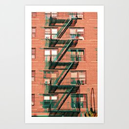 Zig Zag City Art Print