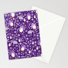 Penguin Wonderland Stationery Cards