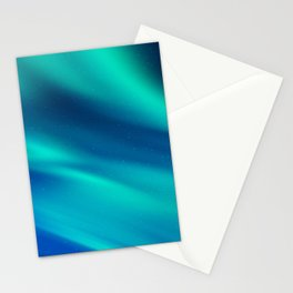Aurora Synthwave #8 Stationery Cards