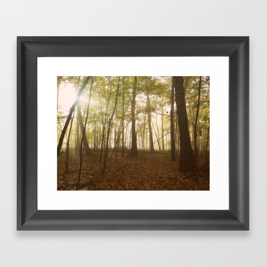 A Secret World Framed Art Print