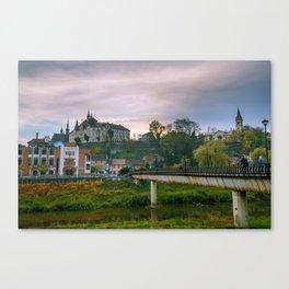 In Sighisoara Canvas Print