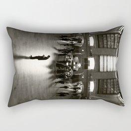 The Wait Rectangular Pillow