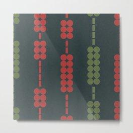 Between dot and line graphs #695 Metal Print
