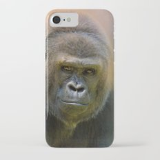 Portrait of a Gorilla iPhone 7 Slim Case