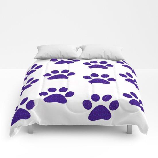 Purple Paws Comforters