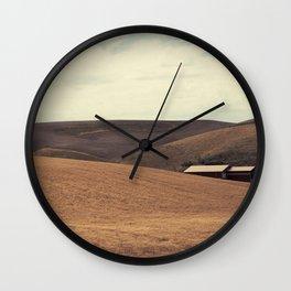 Field and Farmhouse Wall Clock