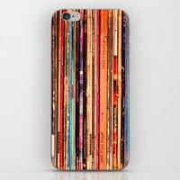 vinyl iPhone & iPod Skins featuring Vinyl by bomobob
