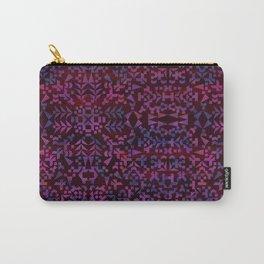 Makai Geometric Purple Carry-All Pouch