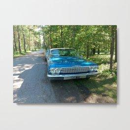 Vintage Car Metal Print