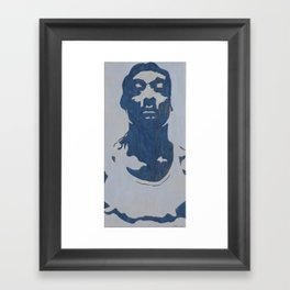 S-N-Double-O-P Framed Art Print