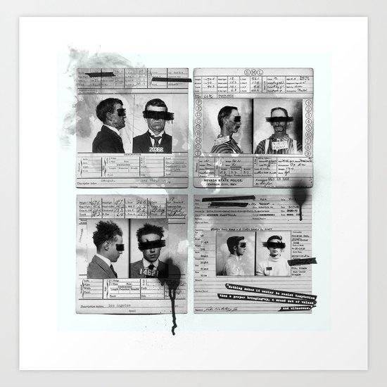 Witness Art Print