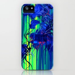 On The Broken Road Between Reality And Truth iPhone Case