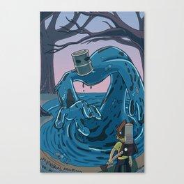 Ohmworld #2 Cover Canvas Print