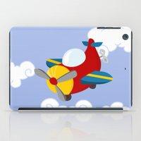 plane iPad Cases featuring plane by Alapapaju