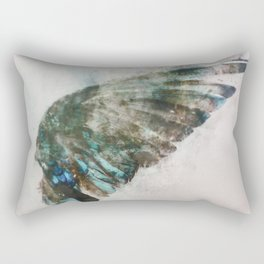 An angel lost its wing Rectangular Pillow