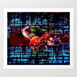 Combat! Art Print