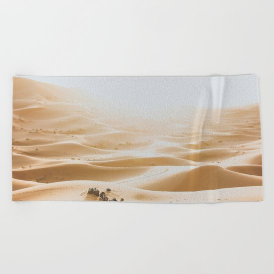 Morocco I Beach Towel
